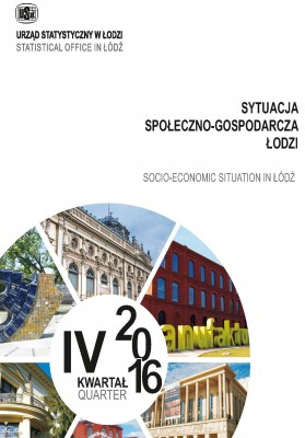 Socio-Ekonomic Situation in Lodz I-IV quarter 2016