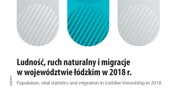 Population, vital statistics and migration in the Łódzkie Voivodship in 2018
