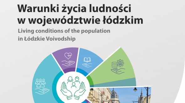 Living conditions of the population in the Łódzkie Voivodship.Edition 2020