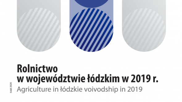 Agriculture in łódzkie voivodship in 2019