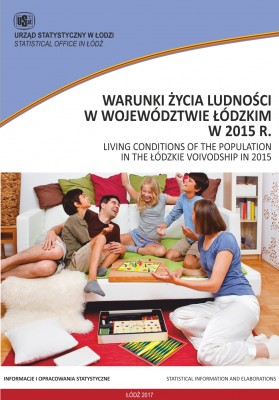 Living conditions of the population in the Lodzkie Voivodship in 2015