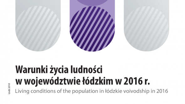 Living conditions of the population in the Lodzkie Voivodship in 2016