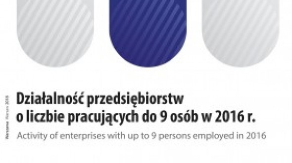 Activity of enterprises with up to 9 persons employed in 2016